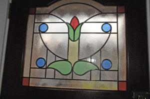 Front Door Coloured Glass